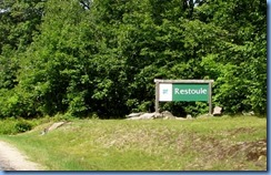 7107 Hwy 534 - Restoule Provincial Park sign (2)