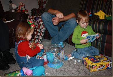 BB & Papa Christmas 032