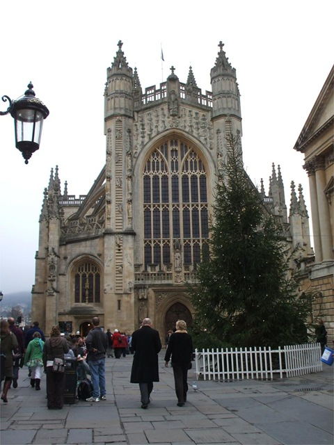 Jacob's Ladder at Bath Abbey