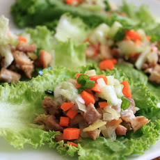 Ginger Chicken Lettuce Cups & Melissa's Produce