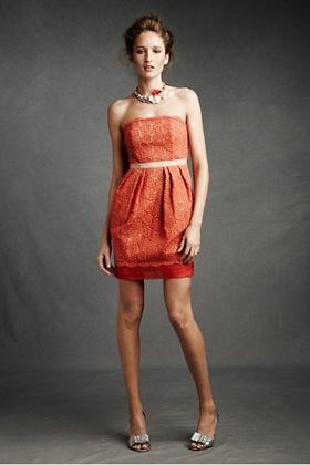 coral dress bhldn