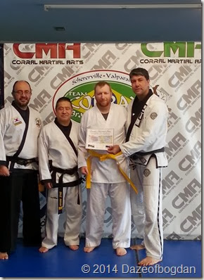 Alex Yellow belt