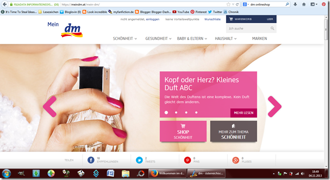 Look Incredible Dm österreichischer Onlineshop