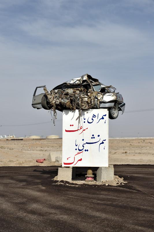 Viteza ucide in varianta iraniana.