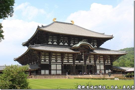 拜訪日本巨大武士頭盔-奈良,東大寺