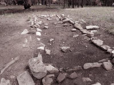 Transept Canyon trail ruin