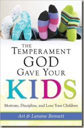 Temperament God Gave Your Kids