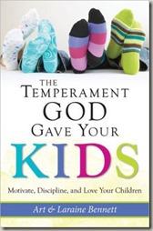 Temperament God Gave Your Kids
