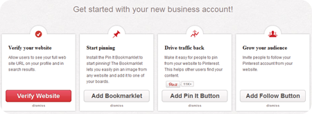 Using Pinterest for Business Account