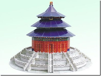 3D Puzzle Temple of Heaven 天壇 02