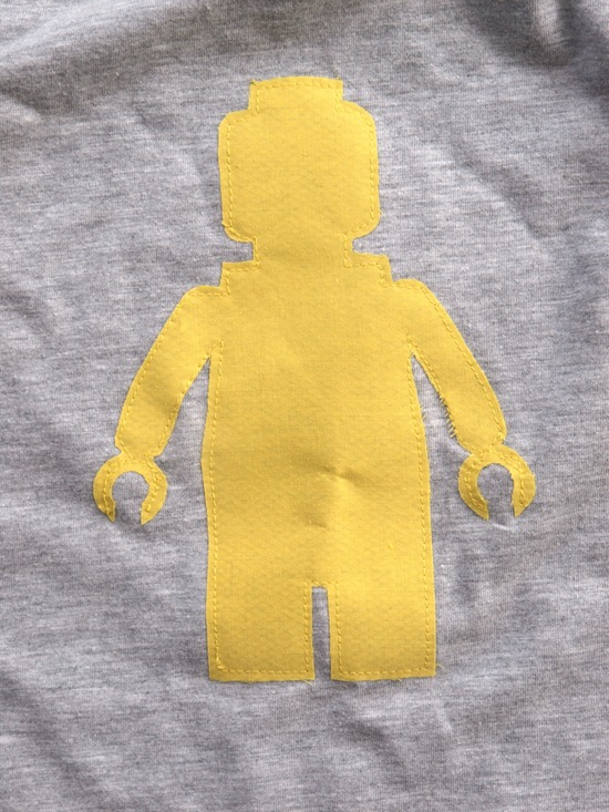 lego man applique