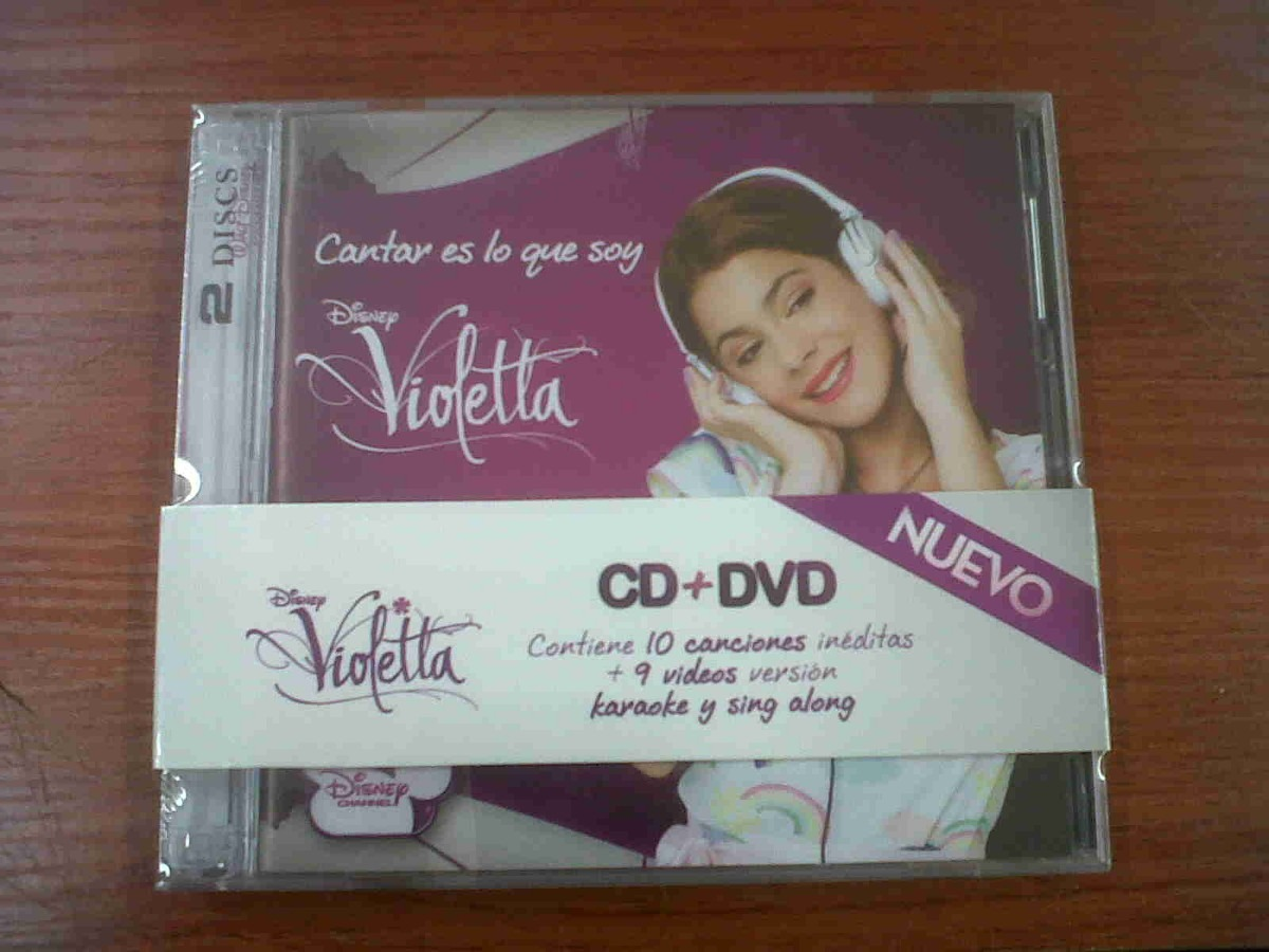 El Cd De Violetta