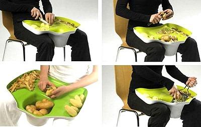 Доска для чистки картошки