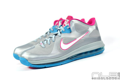 lebron9 low fireberry 09 web white The Showcase: Nike LeBron 9 Low WBF London Fireberry