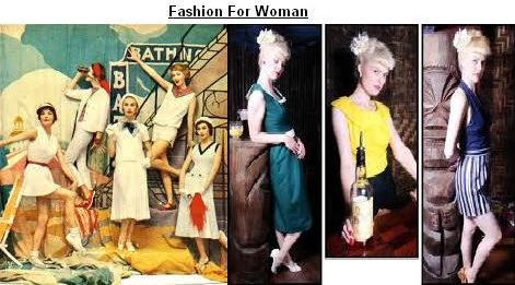 Fashion In 1950s' Style