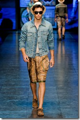 D&G Menswear Spring Summer 2012 Collection Photo 24