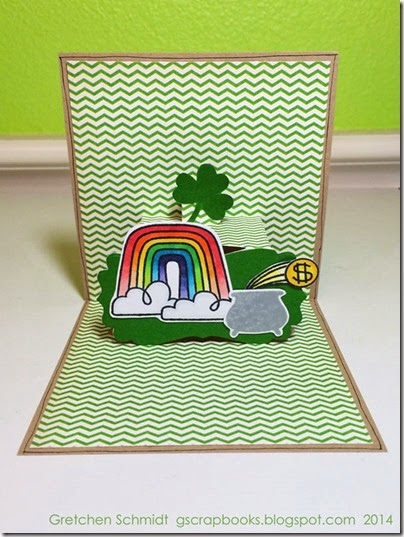 Irish You a Magical Day! card by @gscrapbooks