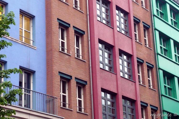 detalle fachada - aldo rossi en berlin
