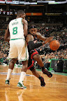 lebron james nba 130127 mia at bos 11 Boston Outlasts Miami in 2nd OT. LeBron Debuts Suede X PE!