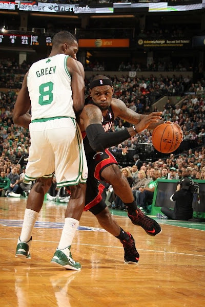 Boston Outlasts Miami in 2nd OT LeBron Debuts Suede X PE