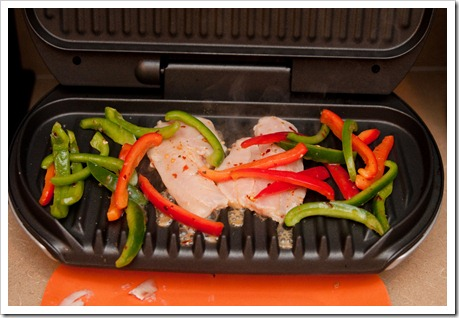 Refrigerate The Fish Pepper Dressing Combo For About 15 20 Minutes Just Long Enough To Marinate Now Toss The Peppers And Fish On The Grill And Cook For