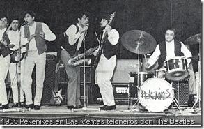 1965 Pekenikes en Las Ventas teloneros con The Beatles