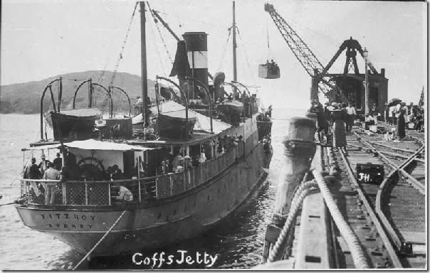 SS Fitzroy Coffs Harbour