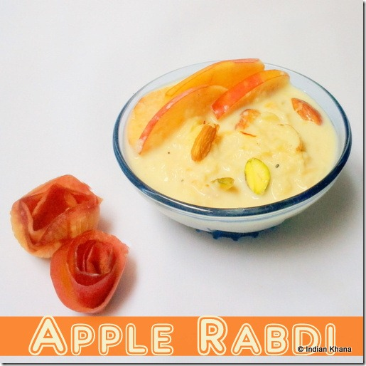 Apple Rabdi Recipe-1