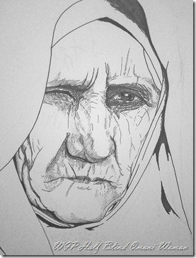 WIP Blind Omani woman