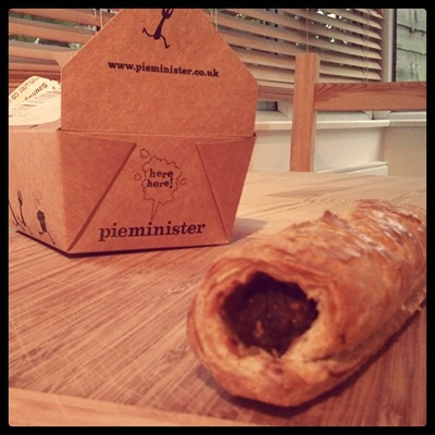 Pieminister's Mr Porky sausage roll