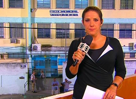 "Christiane Pelajo do ""Jornal da Globo"" - Foto: Reprodução/TV Globo"