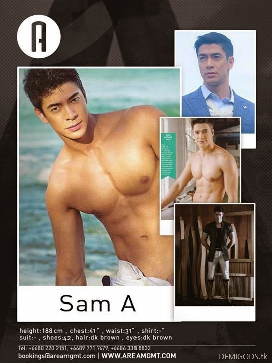 Sam Ajdani Area comp card
