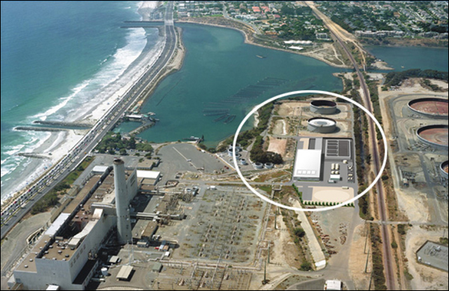 When California's Carlsbad Desalination Project is completed in fall 2015, it will be the largest desalination plant in the Western Hemisphere. Photo: Carlsbad Desalination Project