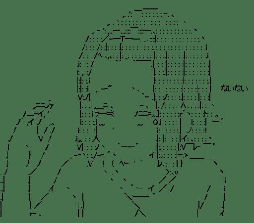 田井中律 「ないない」(けいおん!)
