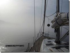 Nebbia a Favignana