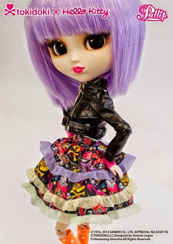 Pullip Violetta Tokidoki x Hello Kitty 05