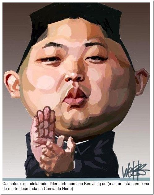 Resultado de imagem para cartoons lider coreia do norte