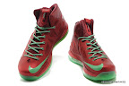 lbj10 fake colorway christmas 1 04 Fake LeBron X