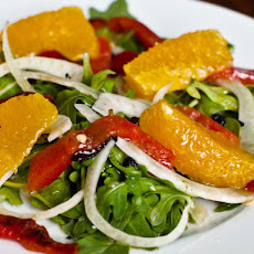 Fennel, Orange, and Roasted Pepper Salad