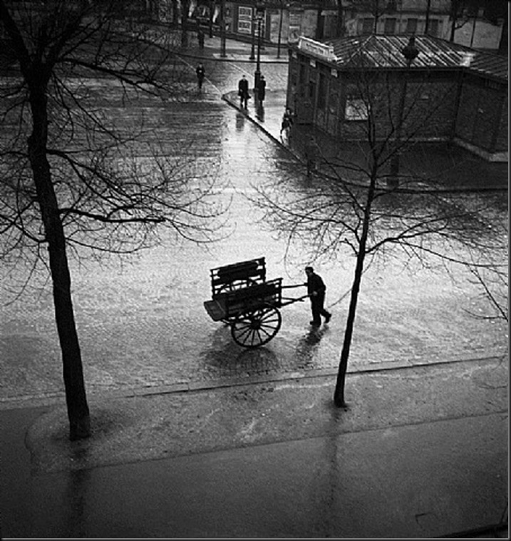 Bougnat, Boulevard Saint-Jacques, Paris années 1940