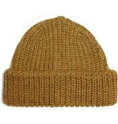 Paul Smith Ribbed Wool Beanie Hat
