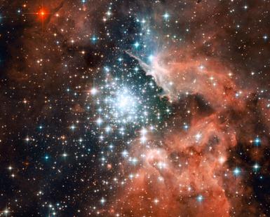 aglomerado NGC 3603