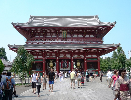 Japão - templo kaminarimon asakusa - Glória Ishizaka