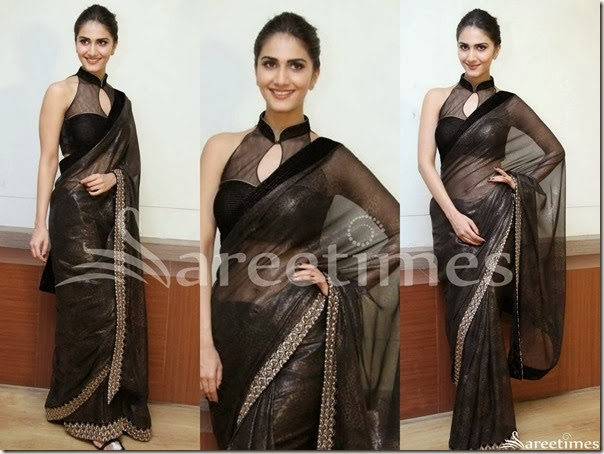 Vaani_Kapoor_Black_Saree