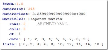 xml_yaml_opnecv_file
