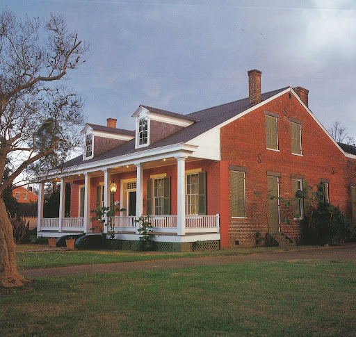 The Tante Huppe House is a stellar example of brick creole architecture.