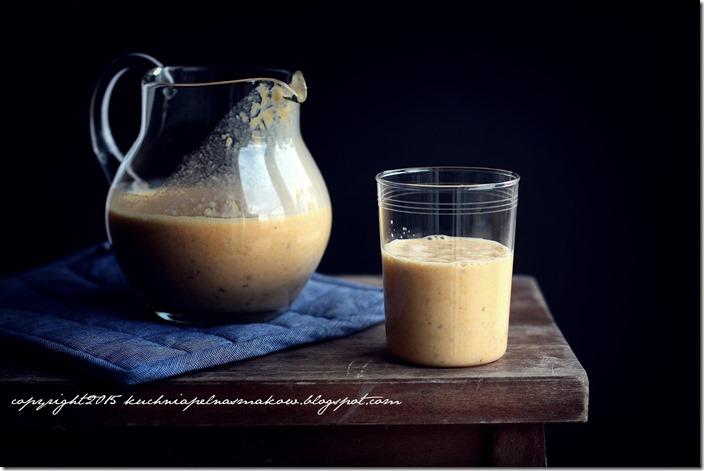 daktyle, mandarynki i jogurt grecki - koktajl (2)