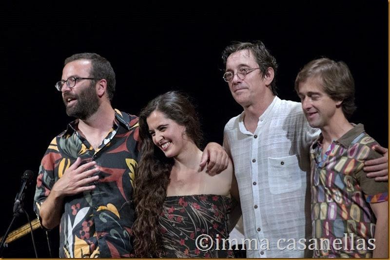 Javier Galiana, Sílvia Pérez Cruz, Javier Colina i Marc Miralta, Igualada 2014