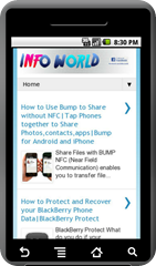 Info World Android App