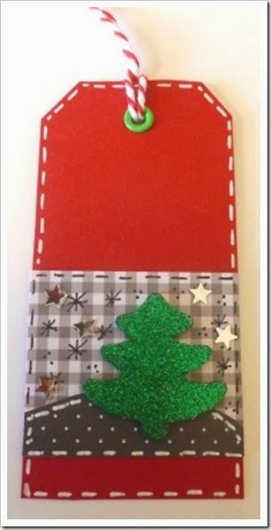 Christmas Tree Gift Tag